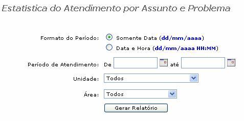 Relatorio estatistica